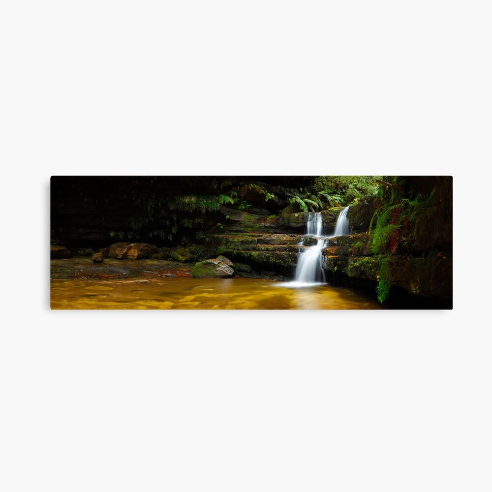 Terrance Falls, Hazelbrook, Blue Mountains, New South Wales, Australia Canvas Print