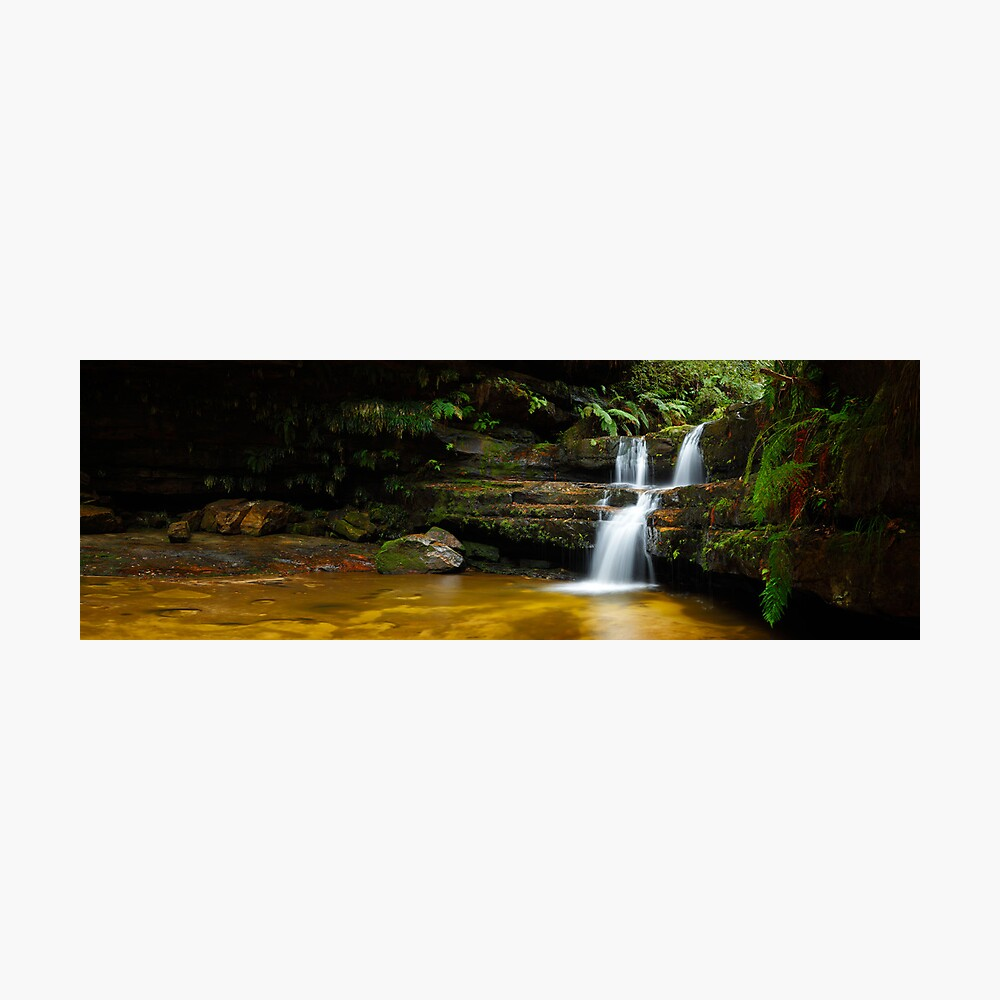 Terrance Falls, Hazelbrook, Blue Mountains, New South Wales, Australia Photographic Print