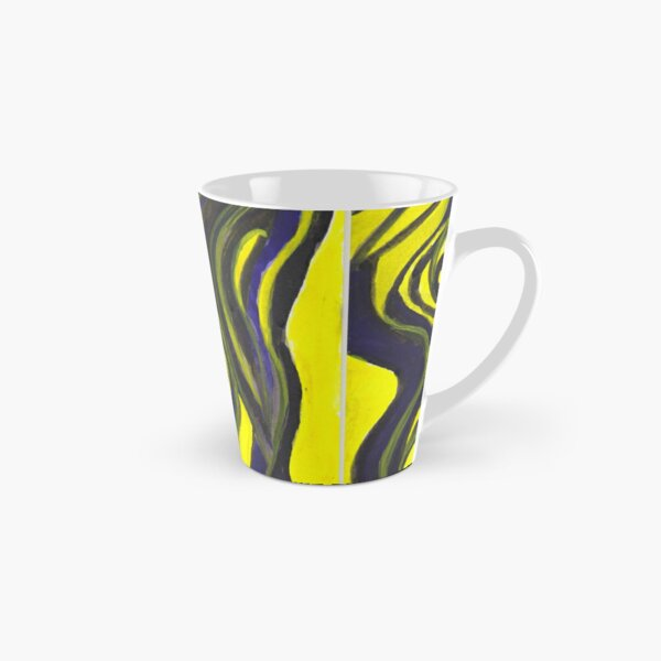 Myths and Legends Abstract (yellow and black) Tall Mug