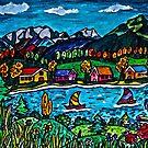 Mountain Sail by Monica Engeler
