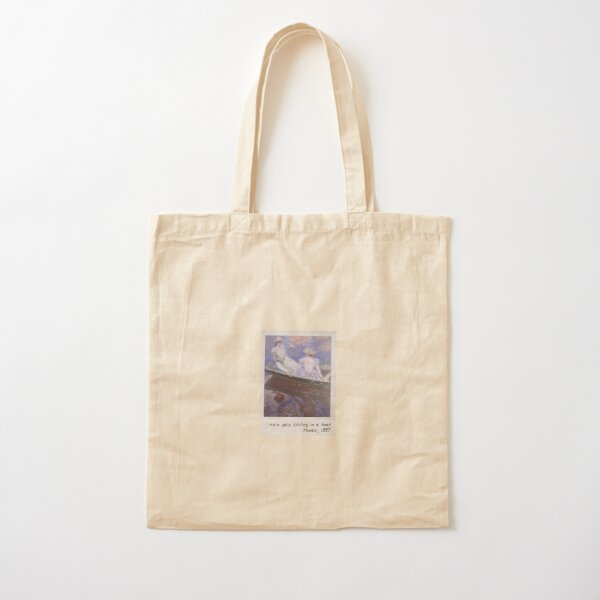 monet - two gals Cotton Tote Bag