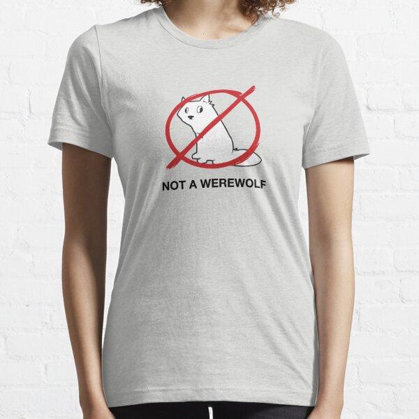A Regular Wolf is Not a Werewolf Essential T-Shirt