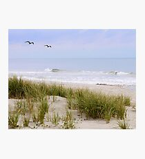 Beach Scene Photographic Print