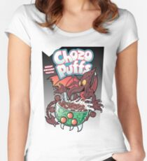 Chozo Puffs Women's Fitted Scoop T-Shirt