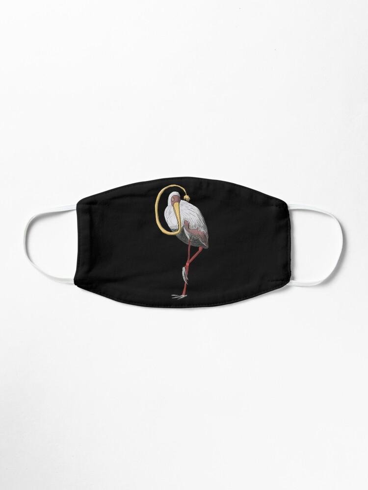 Alternate view of The Stork who Stroke Mask