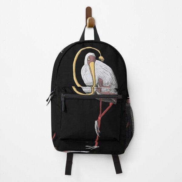 The Stork who Stroke Backpack