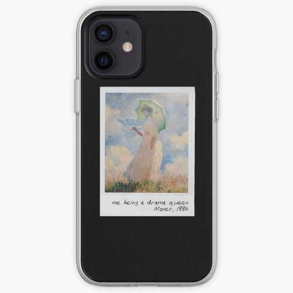 monet - drama queen iPhone Soft Case
