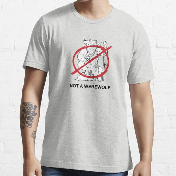 Hippie-Wolves are Not Werewolves Essential T-Shirt