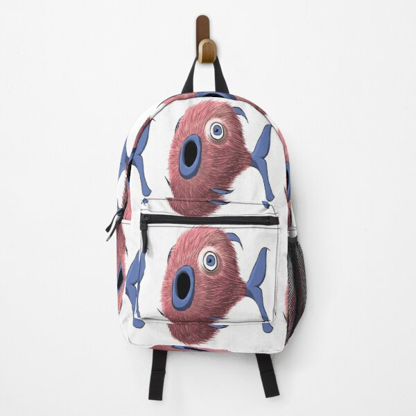 Furry Fish Backpack