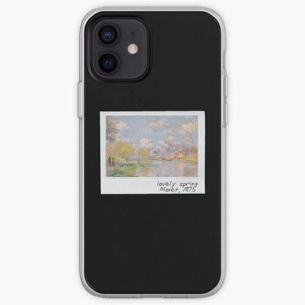 monet - lovely spring iPhone Soft Case