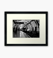 London - The Piccadilly Line, Earl's Court Framed Print
