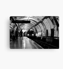 London - The Piccadilly Line, Earl's Court Canvas Print