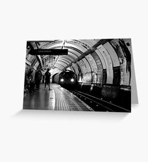 London - The Piccadilly Line, Earl's Court Greeting Card