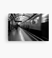 London - The Piccadilly Line Earl's Court 2 Canvas Print