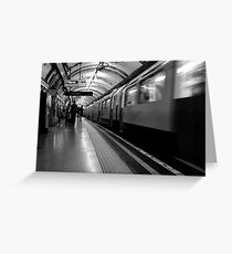 London - The Piccadilly Line Earl's Court 2 Greeting Card