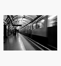 London - The Piccadilly Line Earl's Court 2 Photographic Print