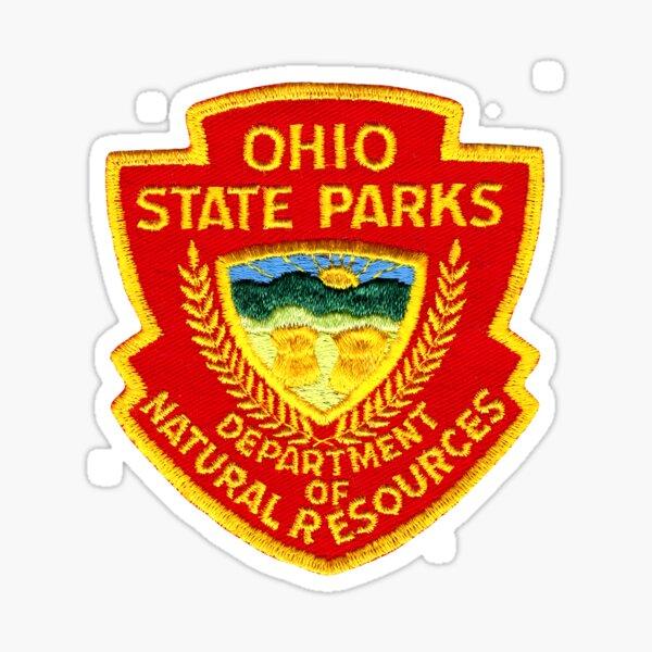 Sticker Columbus Ohio Badge