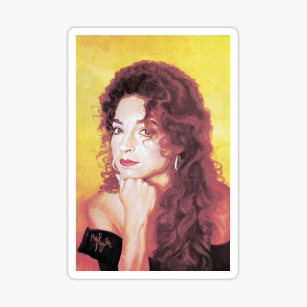 Gloria Estefan Sticker
