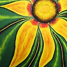 Sunflower Burst by Guy Wann