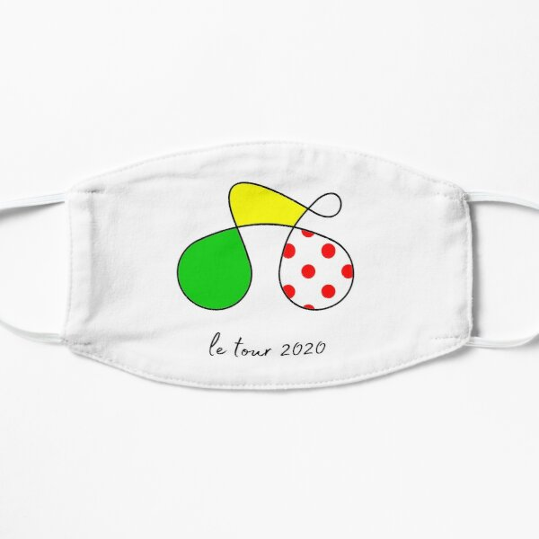 Le Tour Cycling Gift   Unique gift for cyclists   Best bike gift Flat Mask