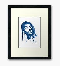 Snoop Doggy Dogg - Pencil Portrait Framed Print