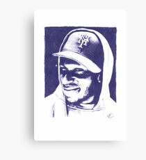 Mos Def - Pencil Portrait Canvas Print