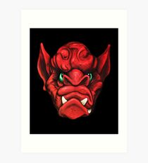 Gargoyle Number 2 Art Print
