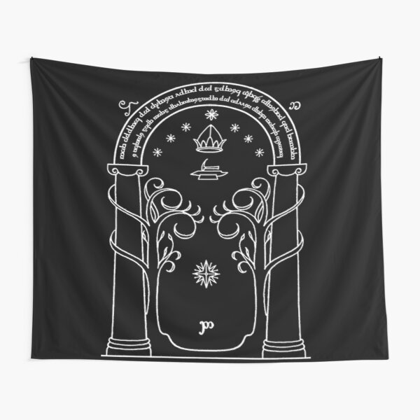 Moon Gate Tapestry