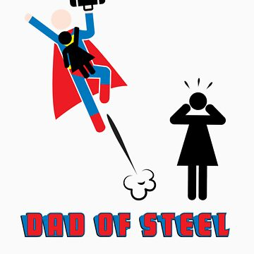 Dad of Steel - Superdad by Kokonuzz