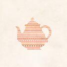 The Peach Teapot by hannahison