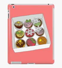 Christmas Cup Cakes iPad Case/Skin