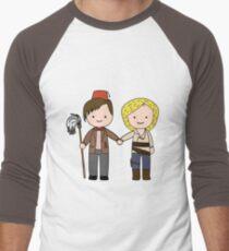 Eleven & River Pandorica Kawaii Design Men's Baseball ¾ T-Shirt
