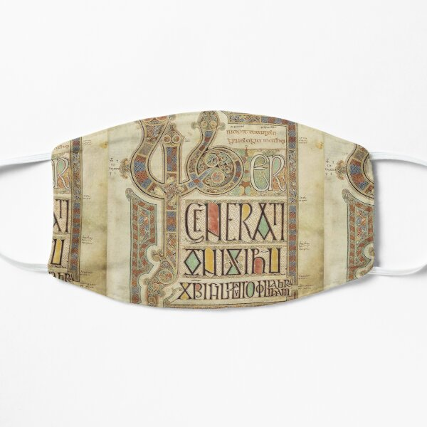 Lindisfarne Gospels. Folio 27r. Mask