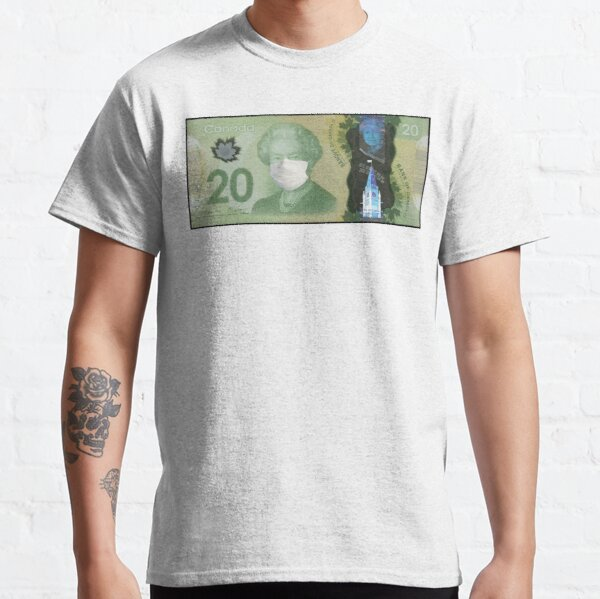 $20 Polymer Note Masked - Bank of Canada Classic T-Shirt