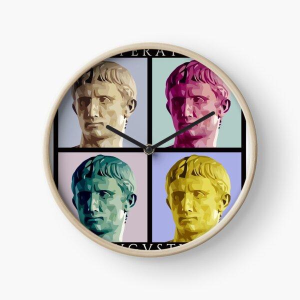 Imperator Augustus pop art Clock