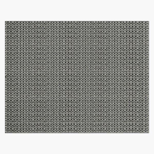 Silver Chainmail Medieval Costume Armor Jigsaw Puzzle