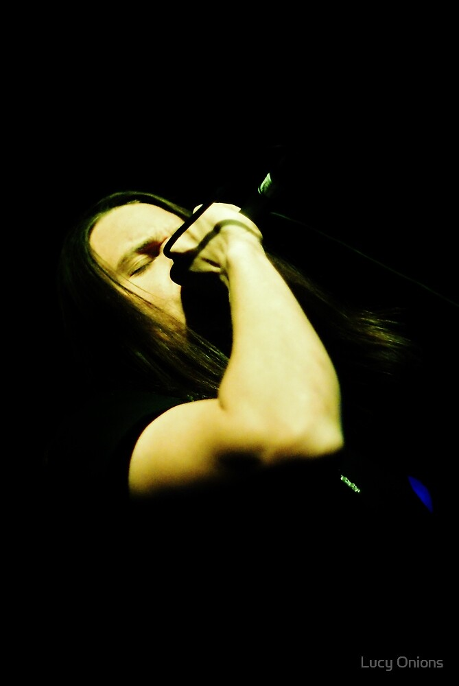 Ronnie Winter - Red Jumpsuit Apparatus by Lucy Onions