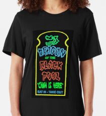 Dragon of the Black Pool, the Best in Little China Slim Fit T-Shirt