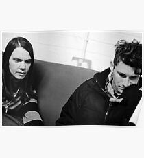 Ronnie Winter & John Hartman - Red Jumpsuit Apparatus Poster