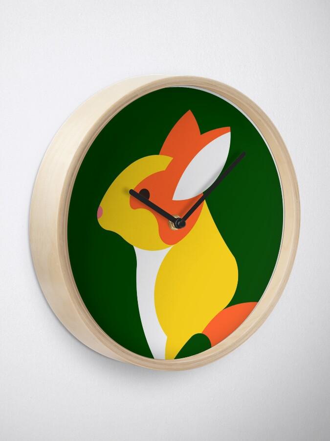 Alternate view of Bunny Clock