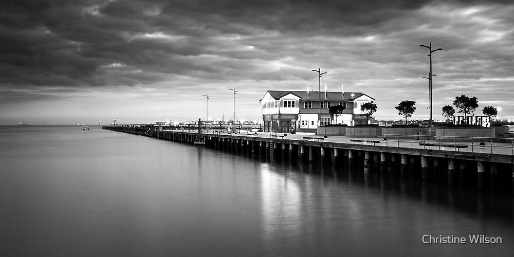 Quot Port Melbourne Princes Pier Quot By Christine Wilson