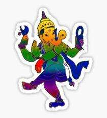 The Ganesh Tattoo Sticker