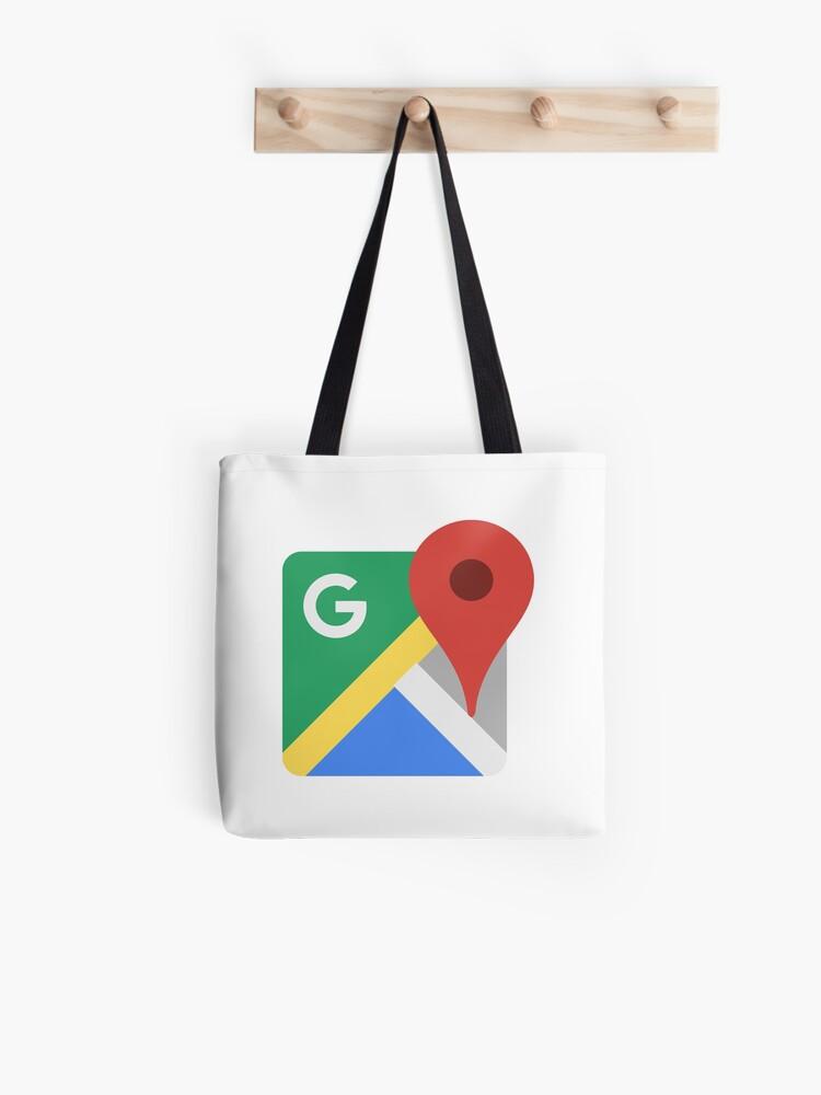 Google Maps Retro App Icon Tote Bag By Redman17 Redbubble