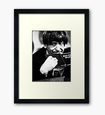 Patrick Troughton Framed Print