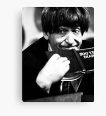 Patrick Troughton Canvas Print