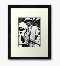 Sylvester McCoy Framed Print