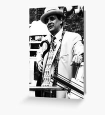 Sylvester McCoy Greeting Card