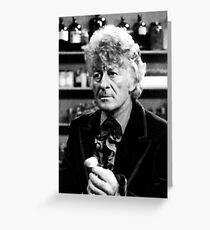 Jon Pertwee Greeting Card