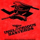 """Movie Poster - """"INGLOURIOUS BASTERDS"""" by Mark Hyland"""