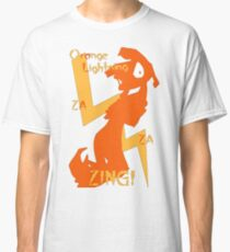 Orange Lightning Classic T-Shirt